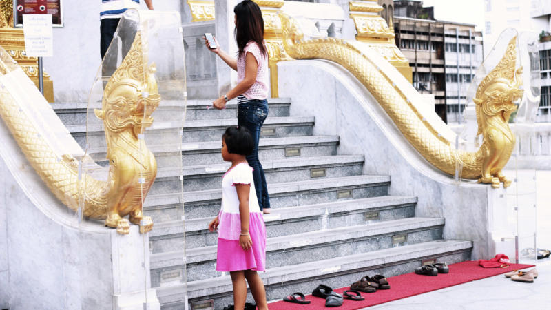 Why We Remove Shoes Before Entering Temple