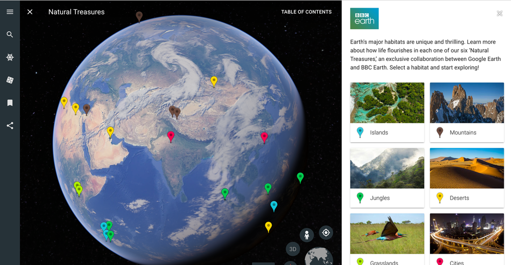Google Earth Introduced Brand New version of Google Earth