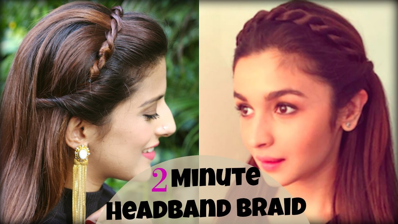 Headband Braid For School, College, Work