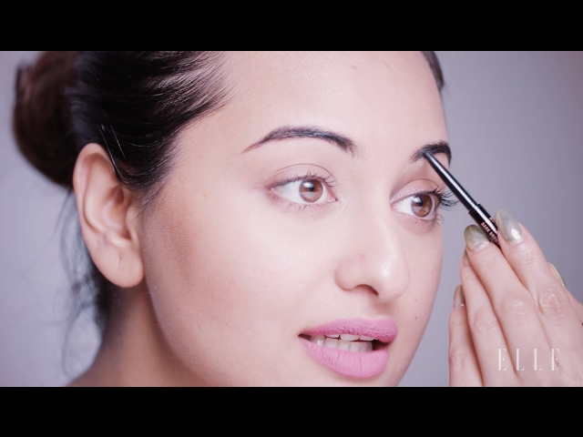 Sonakshi Sinha's Simple Morning Makeup