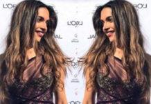 Deepika Padukone In A Marchesa Gown