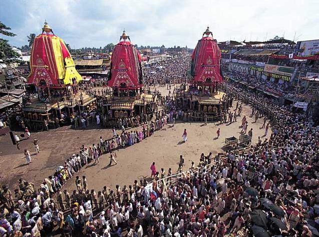 Lord Jagannatha Ratha Yatra In Puri