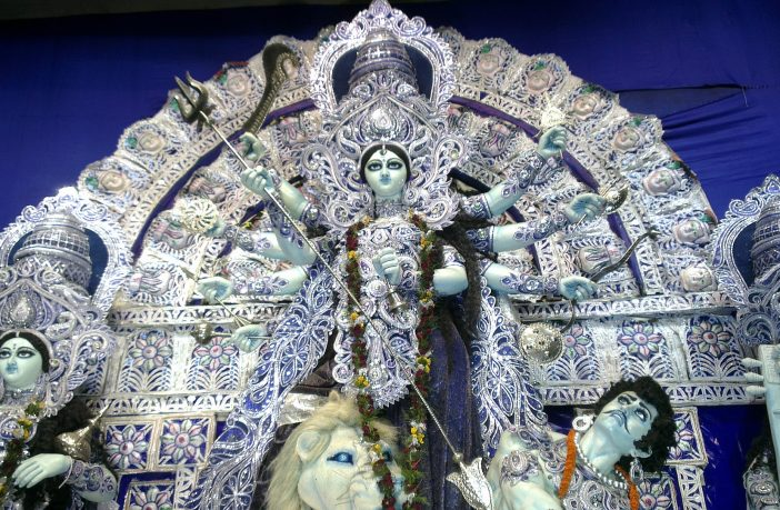 The worship of Durga | Durga Puja