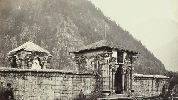 Ancient Temple In Kashmir