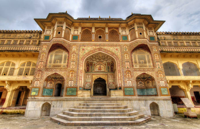 Amber Fort near Jaipur in Rajasthan