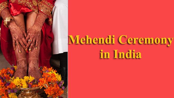 Mehendi Ceremony in India