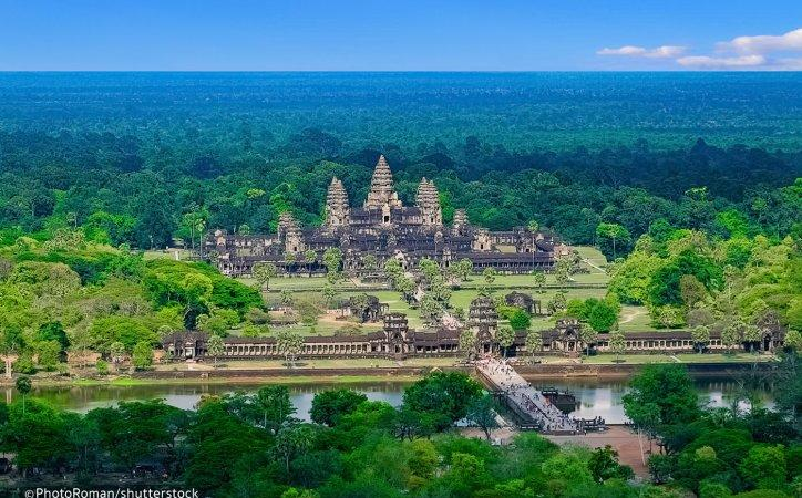 Angkor Wat – Largest religious Monuments Of The World