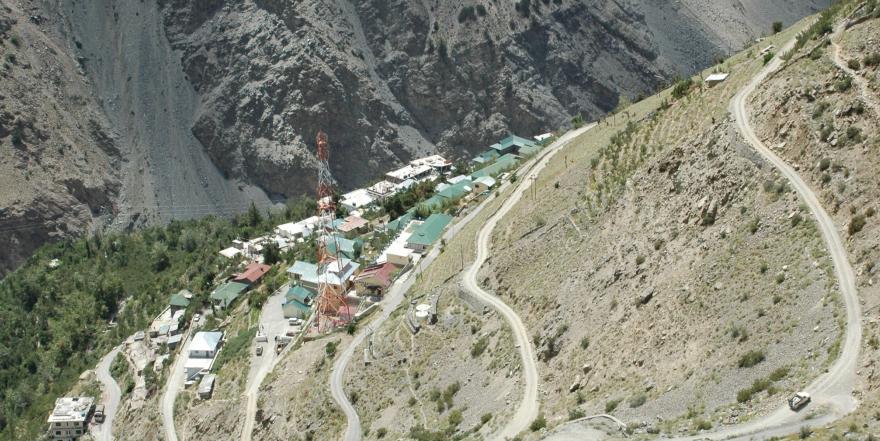 Himanchal Pradesh road