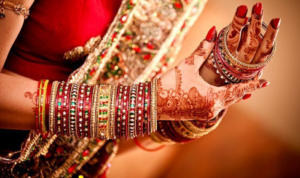 Red for Indian Bride