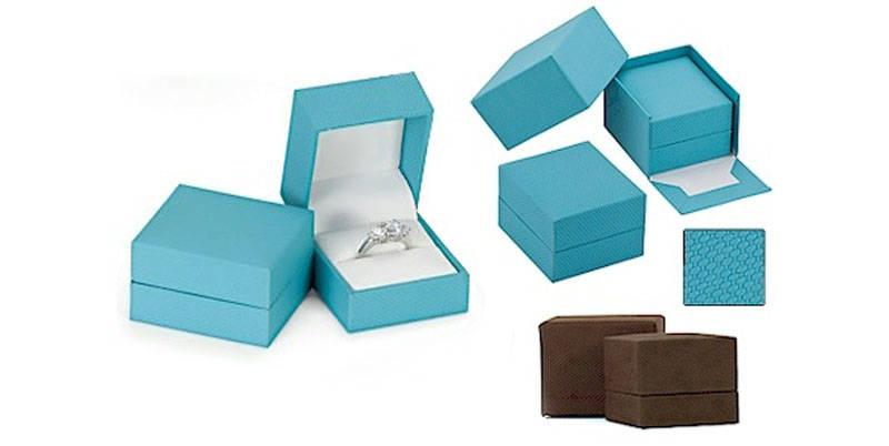 Engagement Ring Box | Velvet Ring Boxes