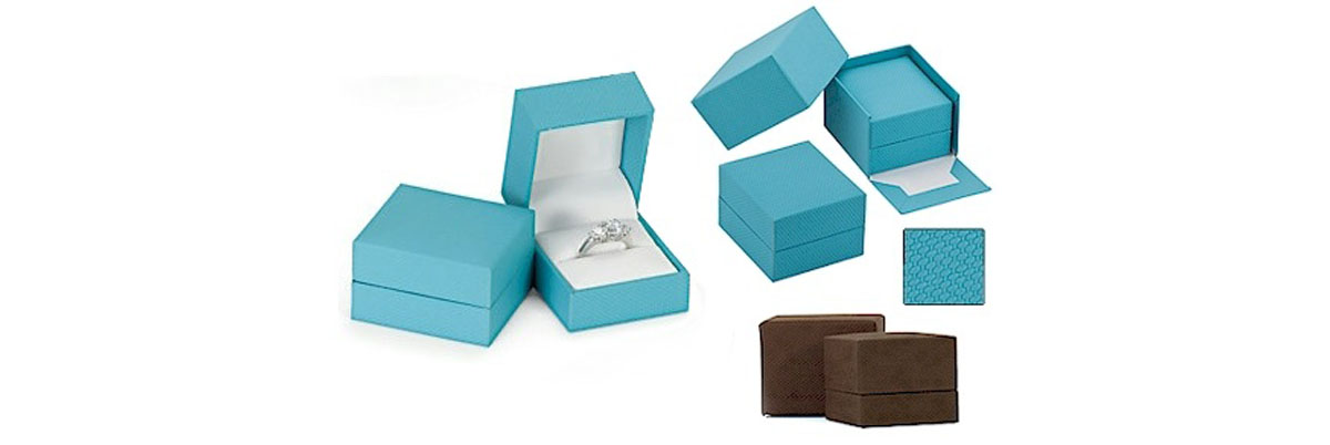 Engagement Ring Box | Velvet Ring Boxes