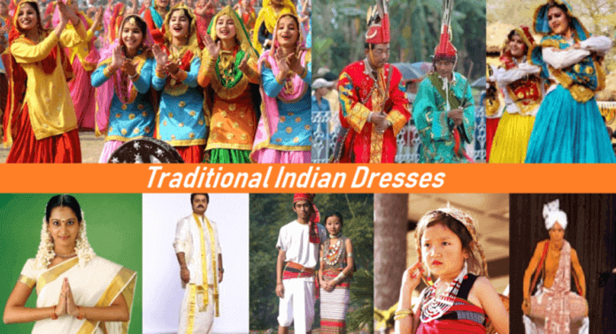 Traditional Dresses Of Indian States