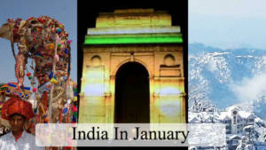 India in january