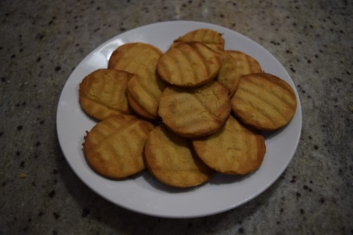 Whole Wheat Jaggery Biscuits
