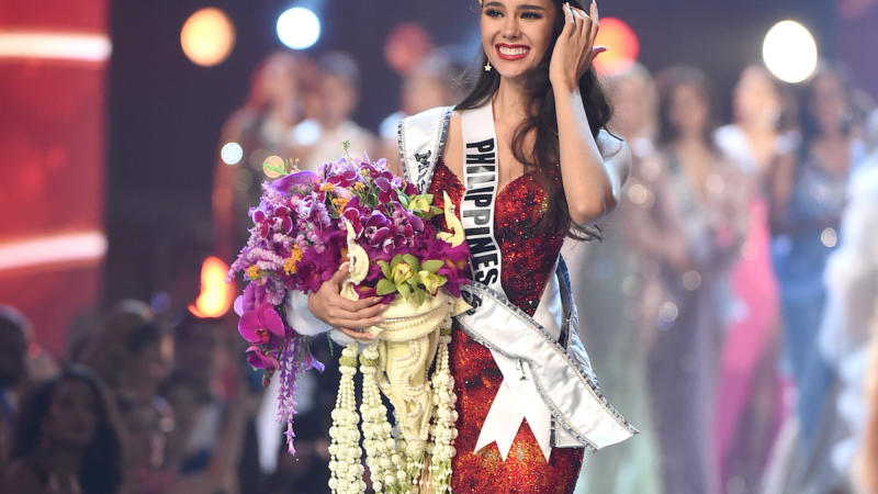 Catriona Gray, from the Philippines is Miss Universe 2018.