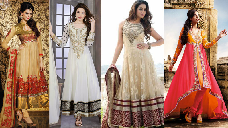 anarkali suits for wedding