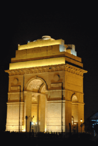 India gate in night