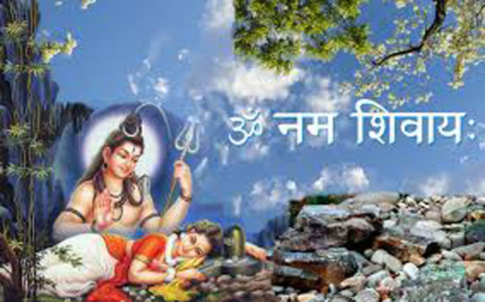 Shiv and Parvati