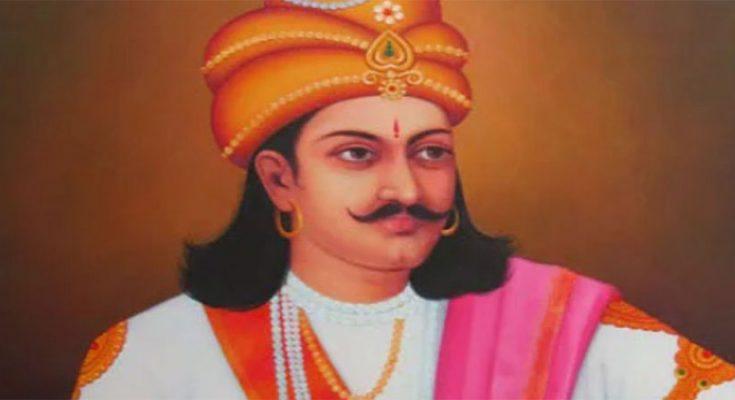 A Rajput of Hindustan who had married 35 Mughal princesses