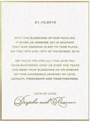 DeepVeer-Wedding-Invitation