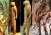 32,000 year old idol of God Narasimha excavated