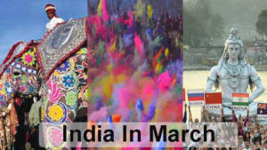 India in March