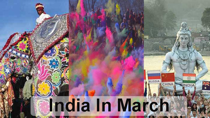 Best places to Visit India in the Month of March