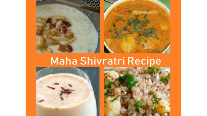 Maha Shivratri Food