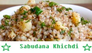 Sabudana-Khichdi