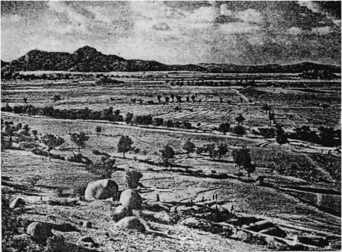 Ash mounds