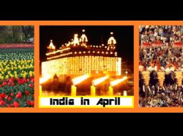 India in April