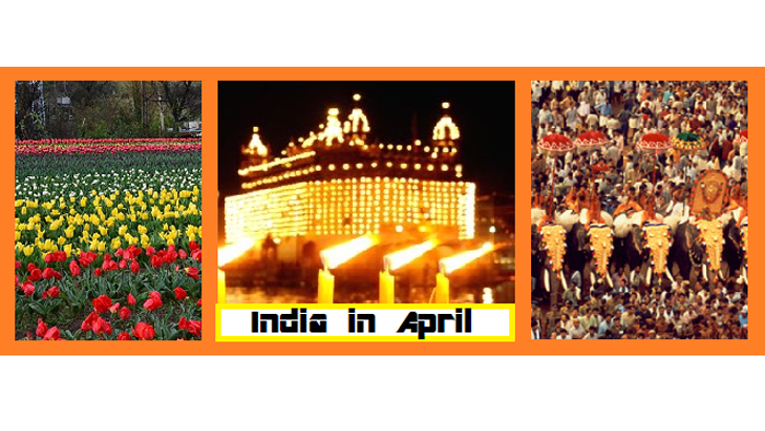 Best places to Visit India in the Month of April