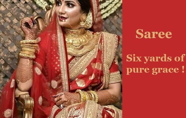 10 Reasons Why You Should Opt For A Designer Sari Than A Bridal Lehenga