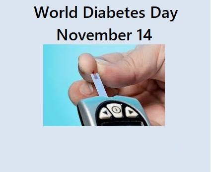 World Diabetes Day – November 14