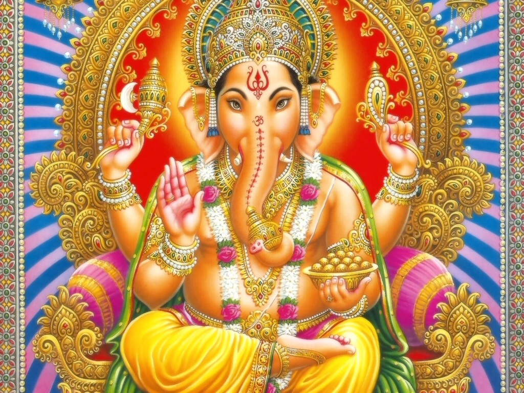 Lord Ganesh – The Elephant Deity Riding A Mouse