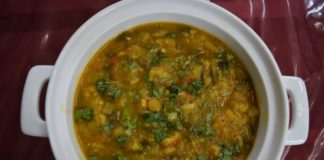Spring Onion Curry