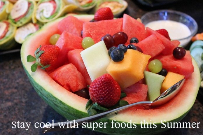 10 Super Food to beat the heat and stay cool these summers