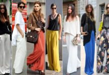 Wide Palazzo Pants are in Fashion