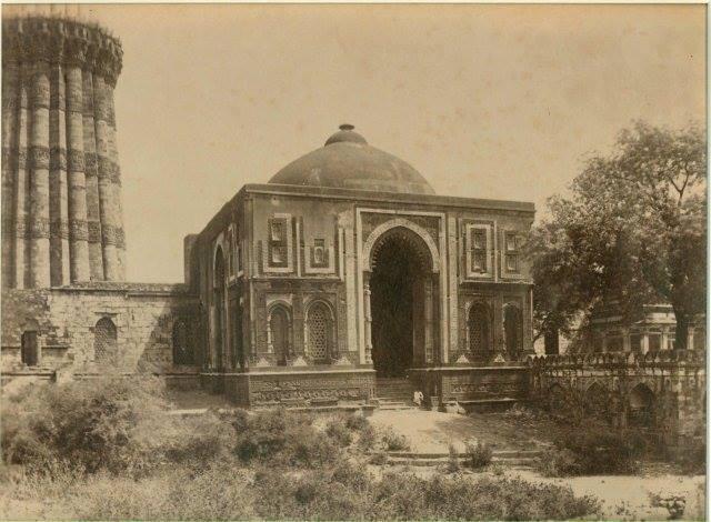 old photo of Alai Darwaza