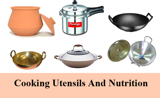 Cooking Utensils and Nutrition