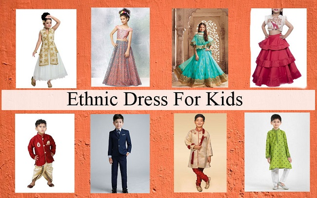 Ethnic Dress For Kids