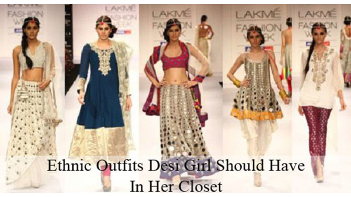 Ethnic Outfits Desi Girl Should Have In Her Closet