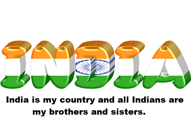 National Pledge of India