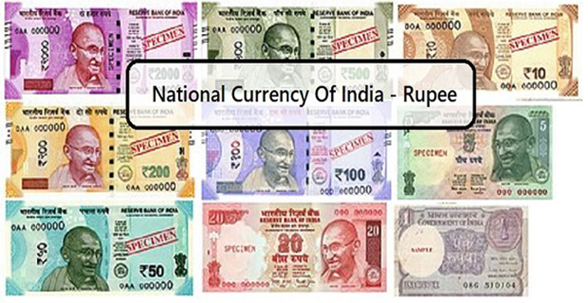 National Currency Of India Indian