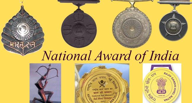 National Award of India