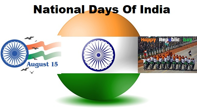National Days Of India