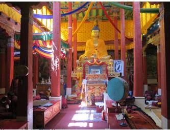 Main Prayer Hall of Hemis Monastery