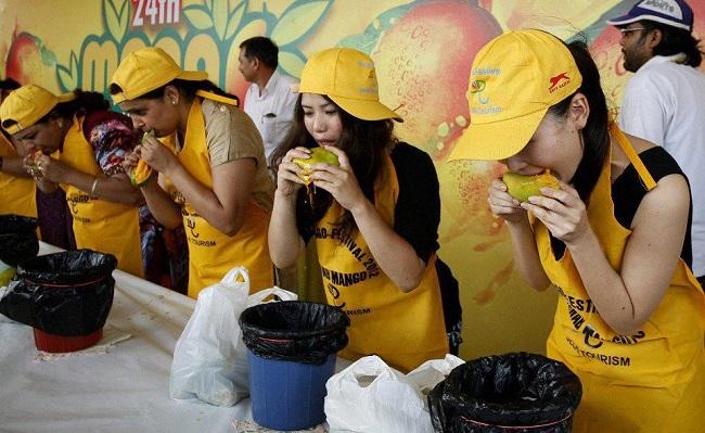 Mango Eating Festival