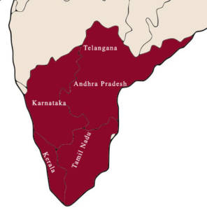 Southern Indian states