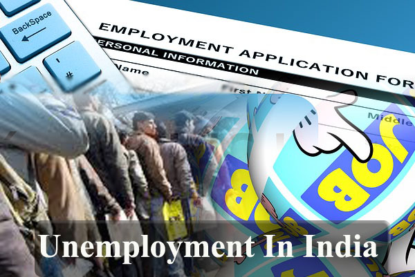 The Problem Of Unemployment In India